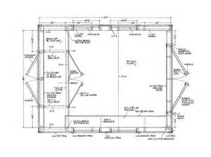 shed layout plans shed floor shed plans package