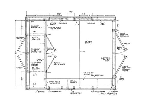 gable shed plans part step diy   modern house roof