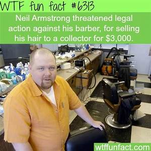 Neil Armstrong's hair sold for $3000 by his barber - WTF ...
