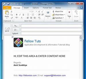 edit outlook email template - outlook email template create and edit responsive pages in