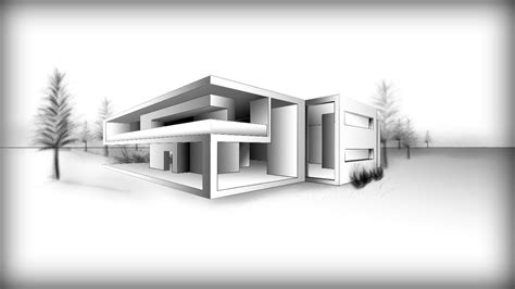 architecture design drawing modern house youtube house