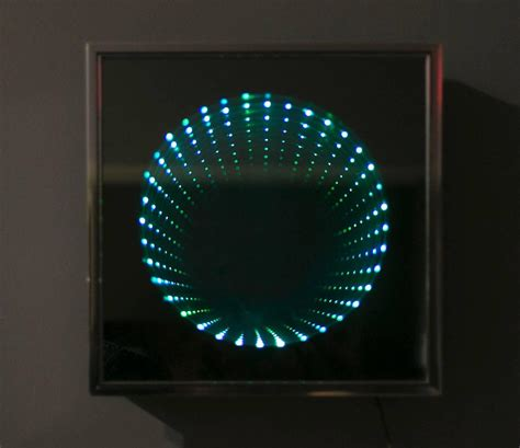 infinity light box wall for sale at 1stdibs