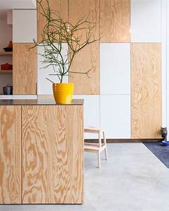 15 idees deco avec du bois et contreplaque shake my blog for Idee deco cuisine avec lit en bois