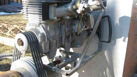 Kawasaki 440 Engine by Fisher Fp 101 Unfinished Kit Needs Repair To Areas For