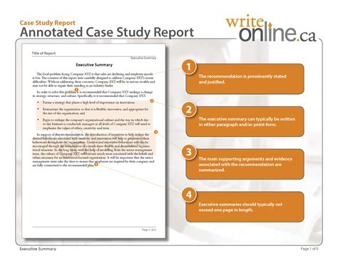 Template For Writing A Study by Write Study Report Writing Guide Resources