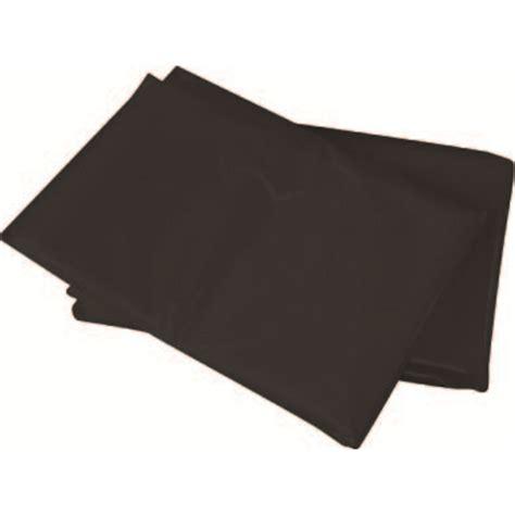 dta australia 4 x 5m black dust shield plastic sheet
