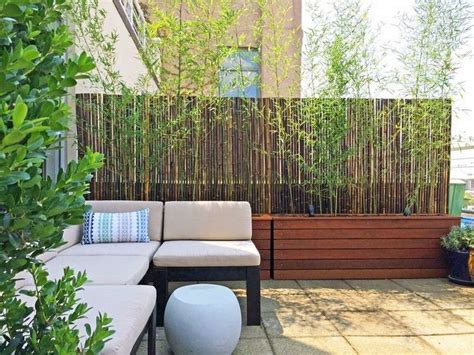 site canapé pas cher brise vue balcon 50 exemples fascinants en bois et bambou
