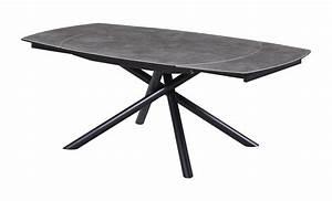 Table Pied Croisé : table repas pieds crois s la maison contemporaine ~ Teatrodelosmanantiales.com Idées de Décoration
