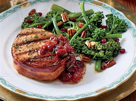 Add it to soups or stews. Grilled Pork Loin Steaks with Cherry-Plum Sauce | Recipe | Pork, Grilled pork loin, Pork chop dinner