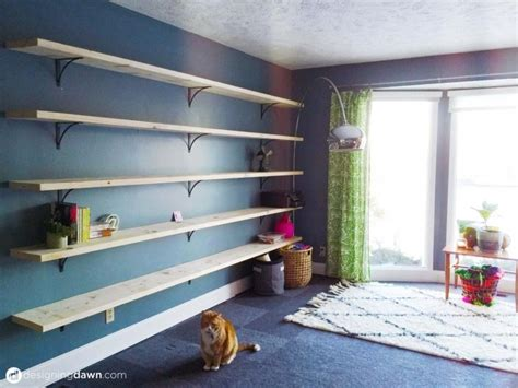 dawns house diy library shelving ad aesthetic