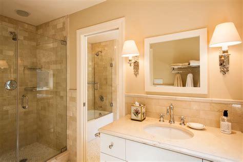 bursa beige marble bathroom traditional with seattle bath
