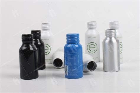 aluminum energy shot bottle shining aluminum packaging