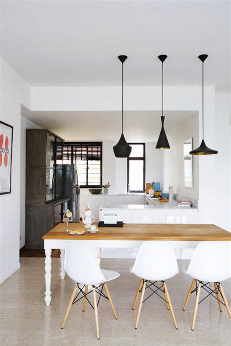 10 Perfect Pairings ? Pendant Lamps and Dining Tables