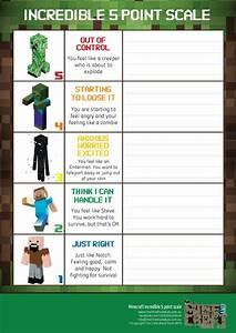 Asd Behaviour Chart Minecraft Social Thinking Thermometer Social Skills