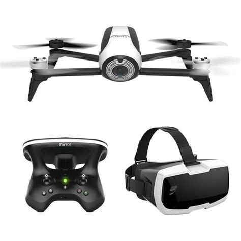 parrot bebop   skycontroller  fpv white pf buydigcom