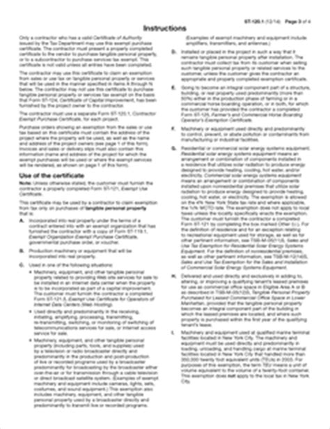 form st   fillable contractor exempt purchase certificate