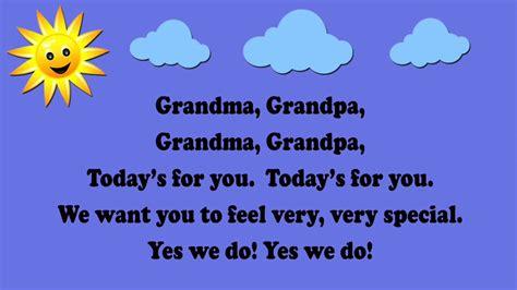 grandma grandpa grandparents day song aka
