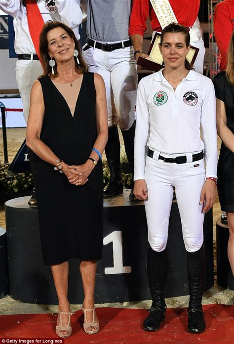 Prince Albert joins Charlotte Casiraghi and sister