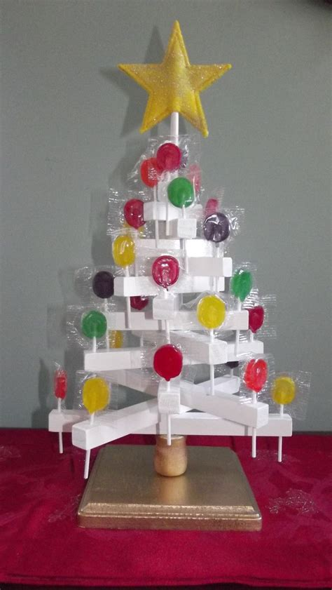 candy lollipop tree wooden  lollipops included