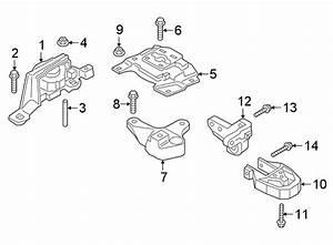Ford Transit Connect Engine Mount Support Bracket  2 0