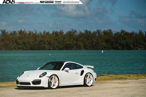 custom porsche 911 turbo white porsche turbo s adv05 m v2 cs series wheels adv 1