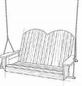 Swing Porch Outdoor Plans Allcrafts Woodcraft sketch template