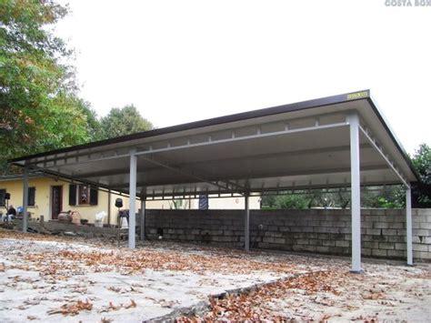 tettoia prefabbricata tettoie prefabbricate in metallo costabox