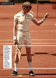 sportweek delivers tennis inspired fashions