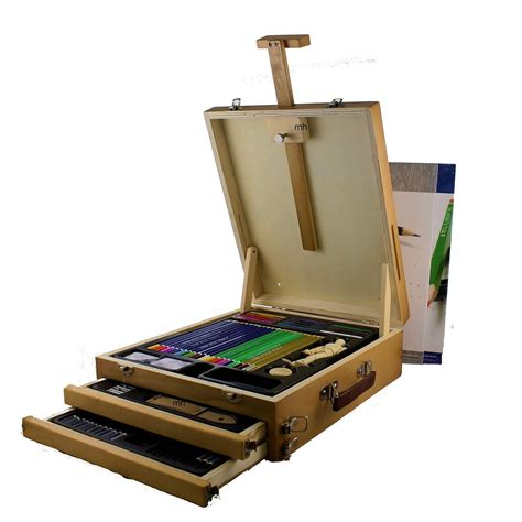 royal langnickel drawing sketching easel set  pieces