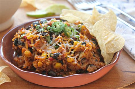 Cheesy Mexican Rice And Black Beans