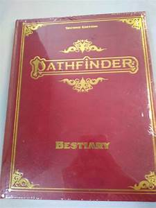Pathfinder 2nd Edition Bestiary Special Deluxe Hardcover