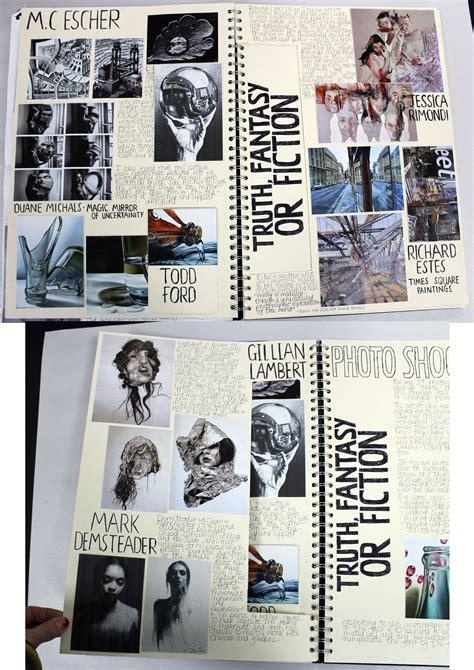al  fine art  cream sketchbook brainstorm esa theme