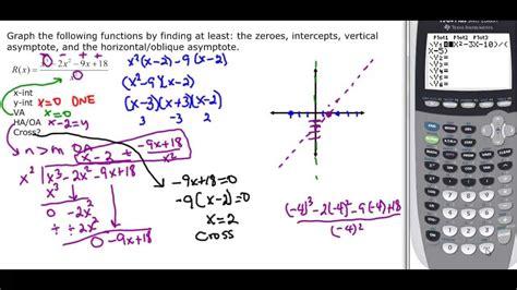 holes asymptotes calculator oblique equation rational equations