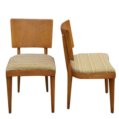 5 vintage heywood wakefield stingray dining side chairs