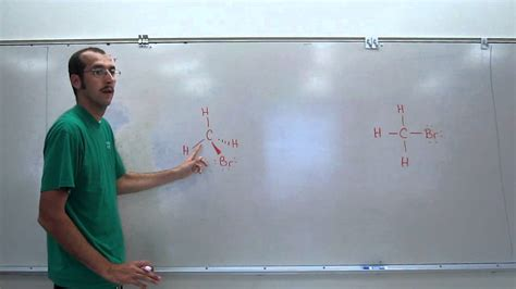 vsepr theory methyl bromide chbr  youtube