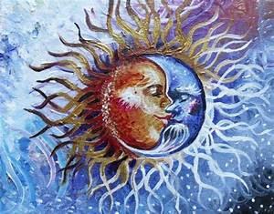 celestial sun and moon | Tumblr