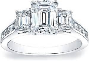 emerald cut three engagement ring three emerald cut engagement ring w square emerald channel set side stones scs1259b