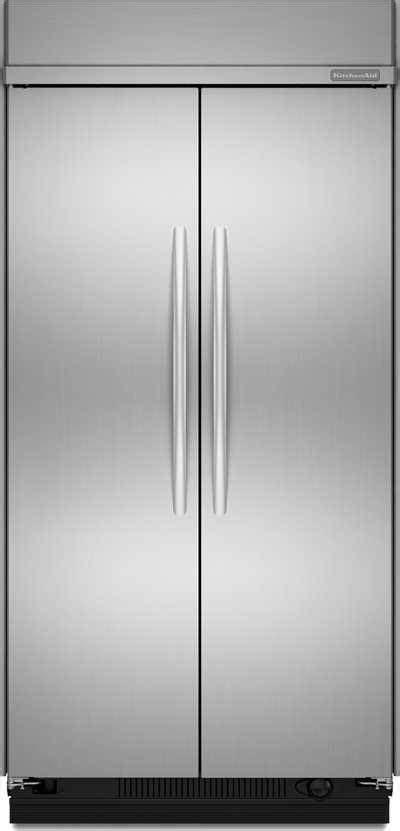 KitchenAid KSSC48FTS 29.8 CuFt Side By Side Refrigerator