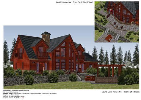 home garden plans lh log house plans log house