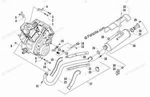 Arctic Cat Atv 2006 Oem Parts Diagram For Engine And