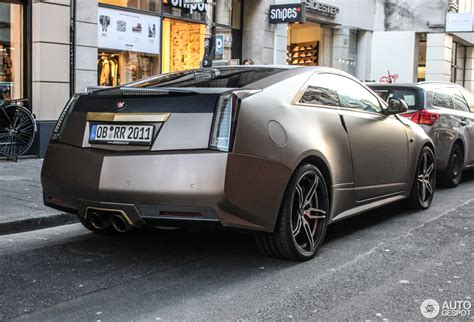Cts V Coupe 2015 by Cadillac Cts V Coup 233 14 March 2015 Autogespot