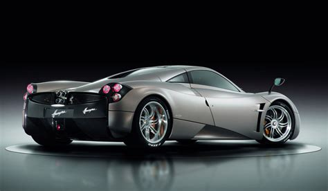 Pagani Huayra Sets Production Car Lap Record At Top Gear Track