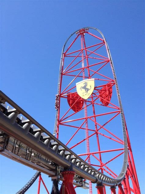 Car news > ferrari > kimi unimpressed by ferrari roller coaster. Europe's fastest and highest roller coaster has just opened in Spain, as part of a new Ferrari ...