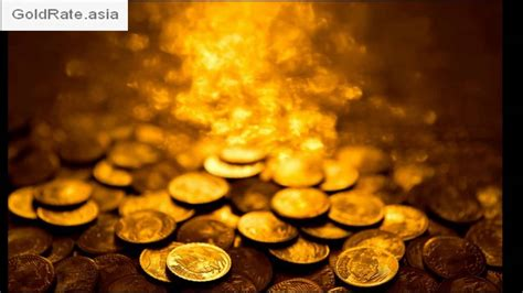 India Gold Rate Today Gold Rate In India Goldrate Asia Youtube