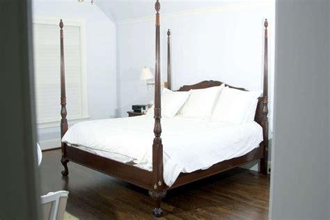 Four Poster King Size Mahogany Bed At 1stdibs