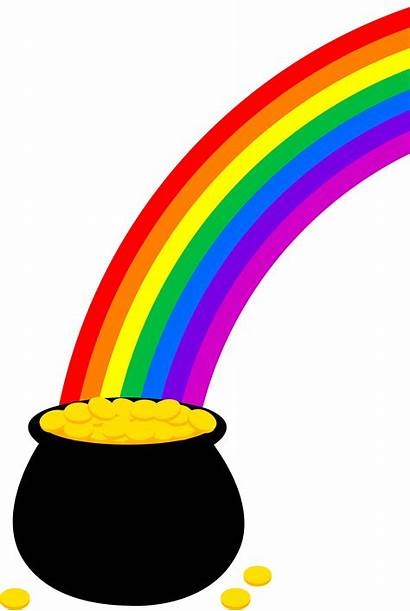 End Clipart Clipartpanda Clip Pot Gold Rainbow