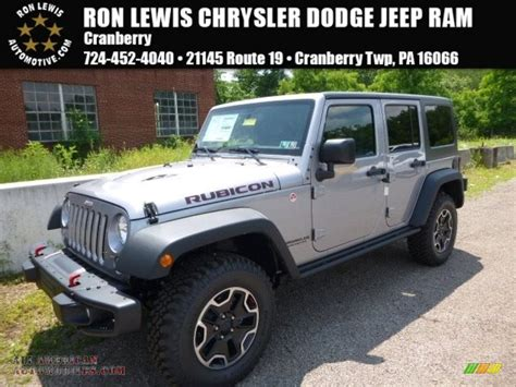 jeep silver 2016 2016 jeep wrangler unlimited rubicon hard rock 4x4 in