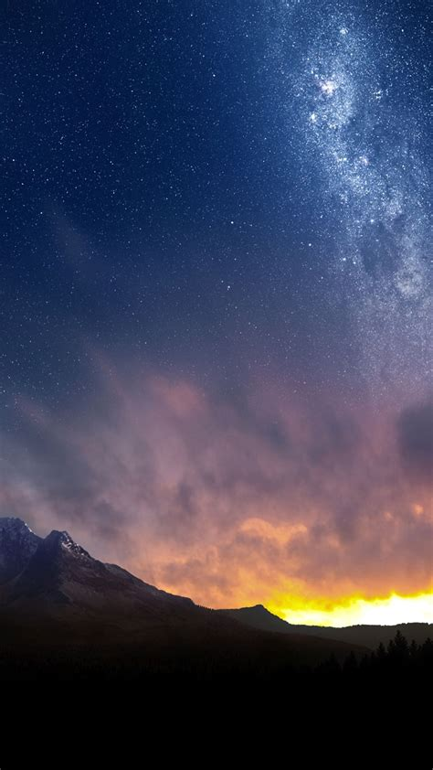 landscape dusk wallpapersc smartphone
