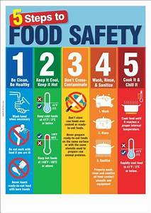 5 Steps To Food Safety