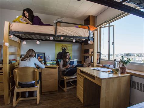 What's In A Dorm Room?  Housing  University Of San Francisco